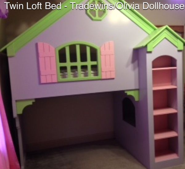 Tradewins Olivia Dollhouse Loft Bed For Sale In Imperial Beach Ca