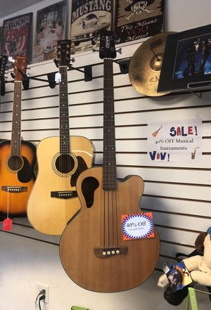 Olympia for string bass acoustic guitar for Sale in Orlando, FL