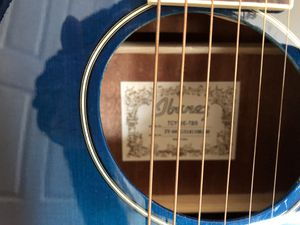 Ibanez Acoustic Electric Guitar with Case for Sale in Tacoma, WA