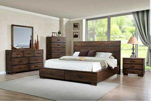 Wooden 3 Piece Queen Bedroom Set for Sale in Alexandria, VA
