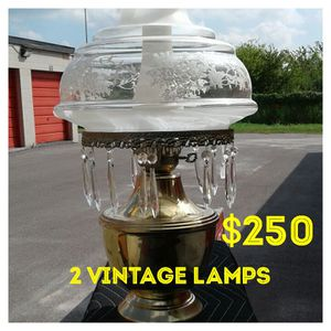 Vintage lamps for Sale in Houston, TX