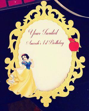 Snow White invite for Sale in Austin, TX