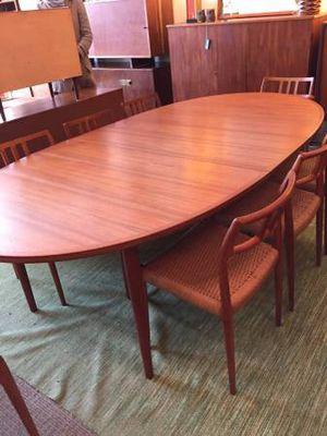 Teak Mid Century Dining room set for Sale in McLean, VA