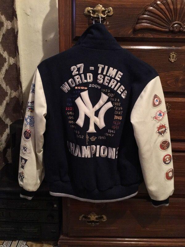 Kids Yankees jacket size large