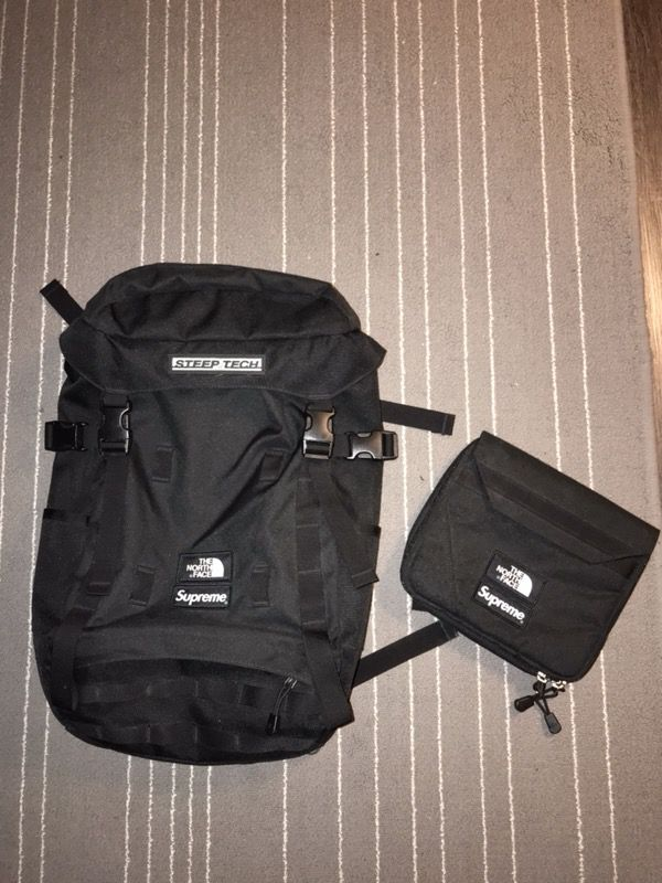 00eac1c76 Supreme X The North Face Steep Tech Backpack for Sale in San Francisco, CA  - OfferUp