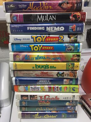 Kids VHS Collection for Sale in Fairfax, VA