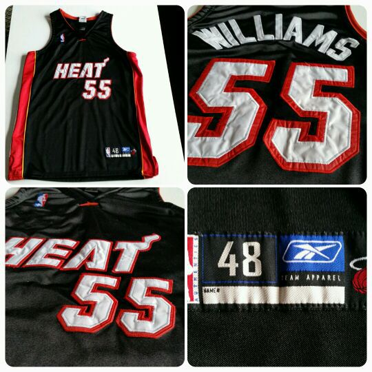 best service 350e7 468aa Jason Williams Miami Heat reebok jersey mens nba authentic for Sale in  Dallas, TX - OfferUp