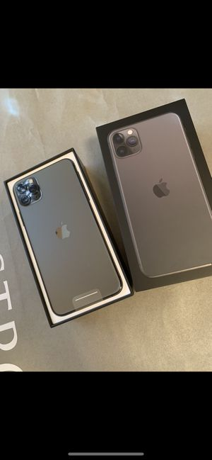 Photo Apple iPhone 11 Pro Space Gray never used unlocked