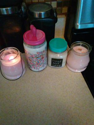 Scented candles made by me for Sale in Baltimore, MD