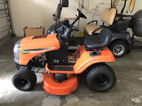 Riding Lawnmower Ariel S 17 5 Horsepower For Sale In