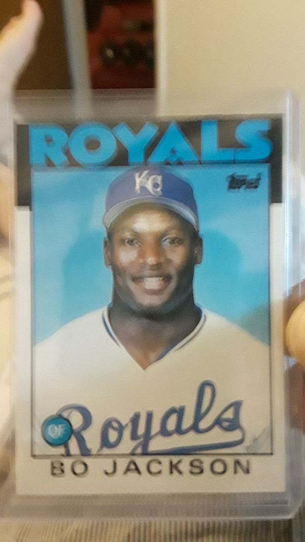 Baseball Card 1986 Bo Jackson Rookie Card For Sale In Woodland Ca Offerup