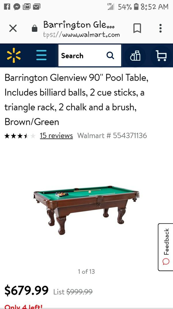 New And Used Pools For Sale In Colorado Springs CO OfferUp - Sportcraft monument billiard table
