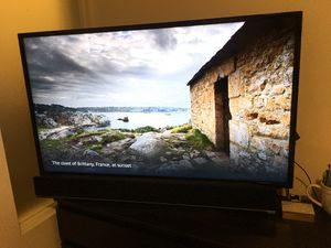 """Samsung TV 48"""" inch with mount and speaker for Sale in Alexandria, VA"""