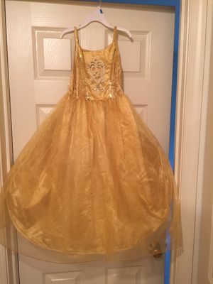 Gold princess Halloween costume for Sale in Centreville, VA