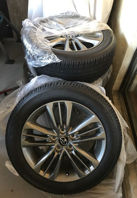 Toyota Camry 2017 Rims And Tires 4 215 55 R17 News