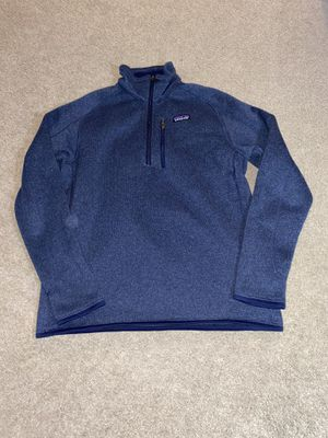 Photo Patagonia better men's M blue sweater