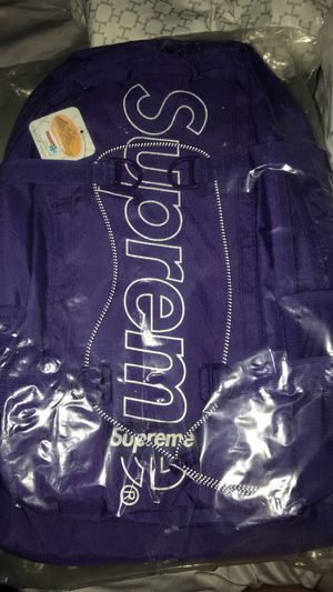 Supreme Purple BackPack FW18 for Sale in Silver Spring, MD