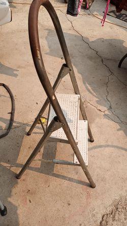 Two step stool Thumbnail