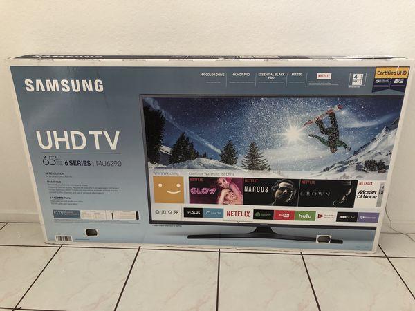 "Samsung 65"" 4K ULTRA HD LED TV - Model: MU6290 for Sale in Davie, FL -  OfferUp"