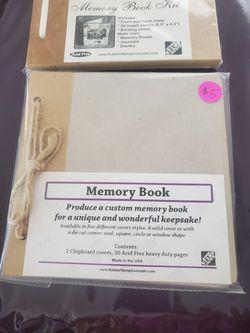 Memory Book. $5 Each Thumbnail