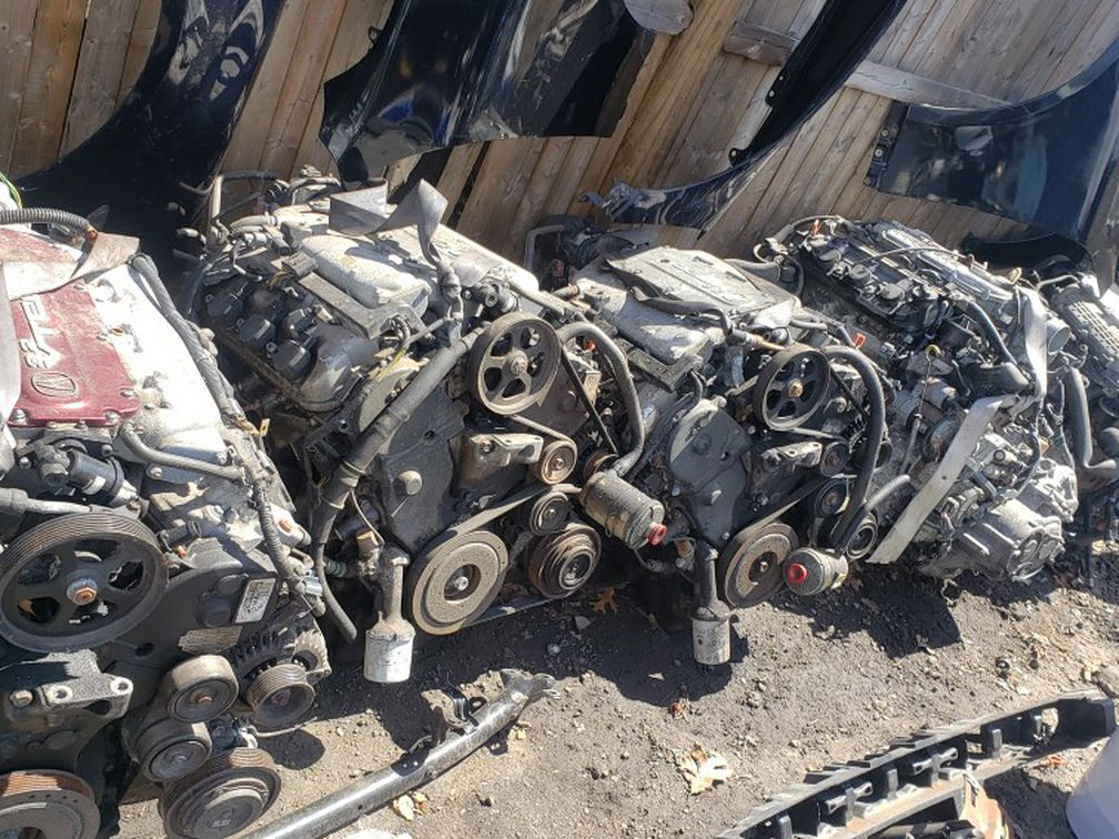 Acura TL 04-08 Engines All Good No Smoking Or Ticking None Of That $400 Each