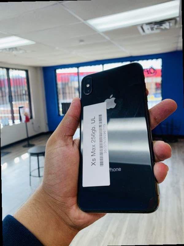 iPhone XS Max 256gb factory unlocked C6
