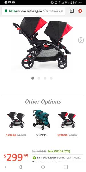 Contour Double Stroller In Good Condition USED for Sale in Fort Lauderdale, FL