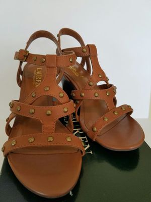 Ralph Lauren wedge sandels, size 6 for Sale in Houston, TX