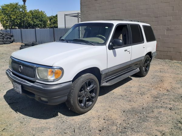 1999 Mercury Mountaineer Smogged Clean Title For Sale In Rancho Cordova  Ca