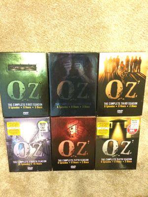 Oz DVDs (seasons 1-6) for Sale in South Kensington, MD