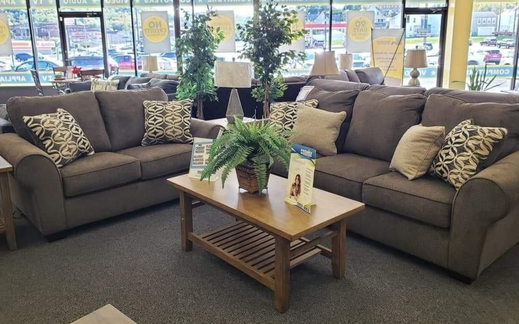 Nesso Walnut Living Room Set Sofa, loveseat & couch & sectional) ask price