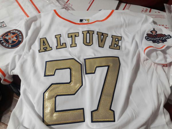 newest 1e8fa dfee8 astros jersey jose altuve MEN gold new size medium, 2x and 3XL ONLY for  Sale in Houston, TX - OfferUp