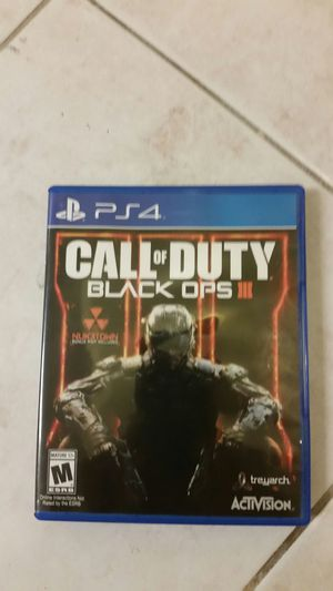 Call of Duty Black Ops 3 for Sale in Herndon, VA