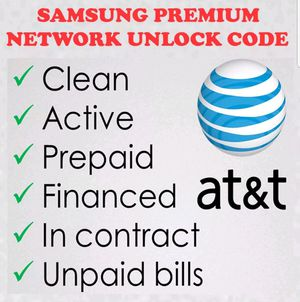 AT&T phones unlock service for Sale in Silver Spring, MD