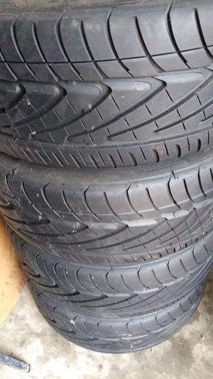 Photo 18' used 5 lug rims new nitto tires