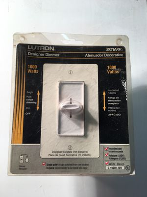 Single pole for light switched - LUTRON- never opened the package for Sale in Baltimore, MD