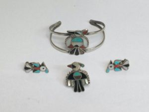 $110 - Silver Bracelet Errings and Ring set for Sale in Spring Valley, CA