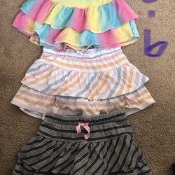 Girls Skirts And Shirts Thumbnail