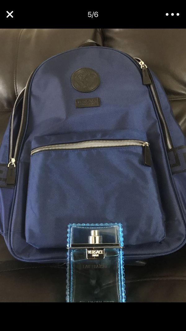 fd31f4692227 Versace Backpack With Versace Cologne 250 Clothing Shoes In West  Springfield Ma Offerup. Versace Cologne Gift Set Backpack Gift Ideas