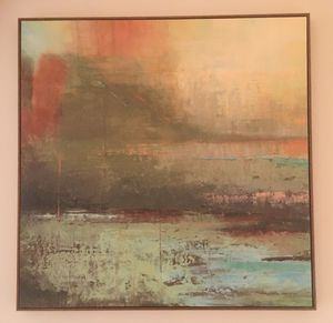Helen Shulman's Original Fine Art Piece, Abstract Painting for Sale in Washington, DC