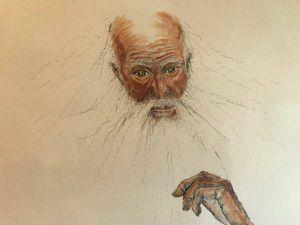 G Vock Prophet II limited edition signed drawing framed - $100 (Reston) for Sale in Herndon, VA