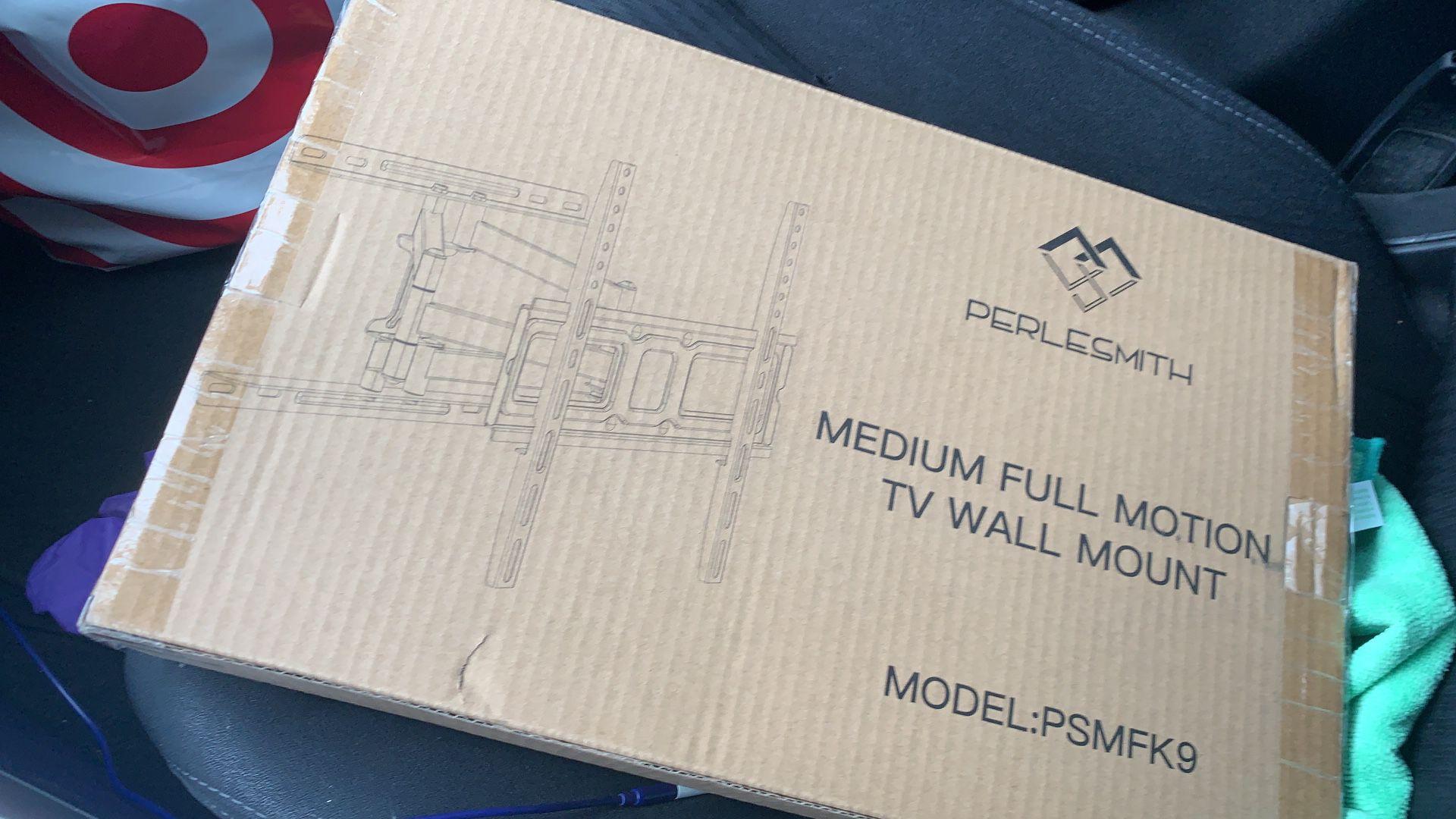 TV full motion wall mount