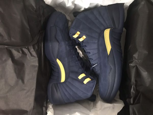 096658ef45b4 Jordan 12 Michigan (Clothing   Shoes) in Hillside