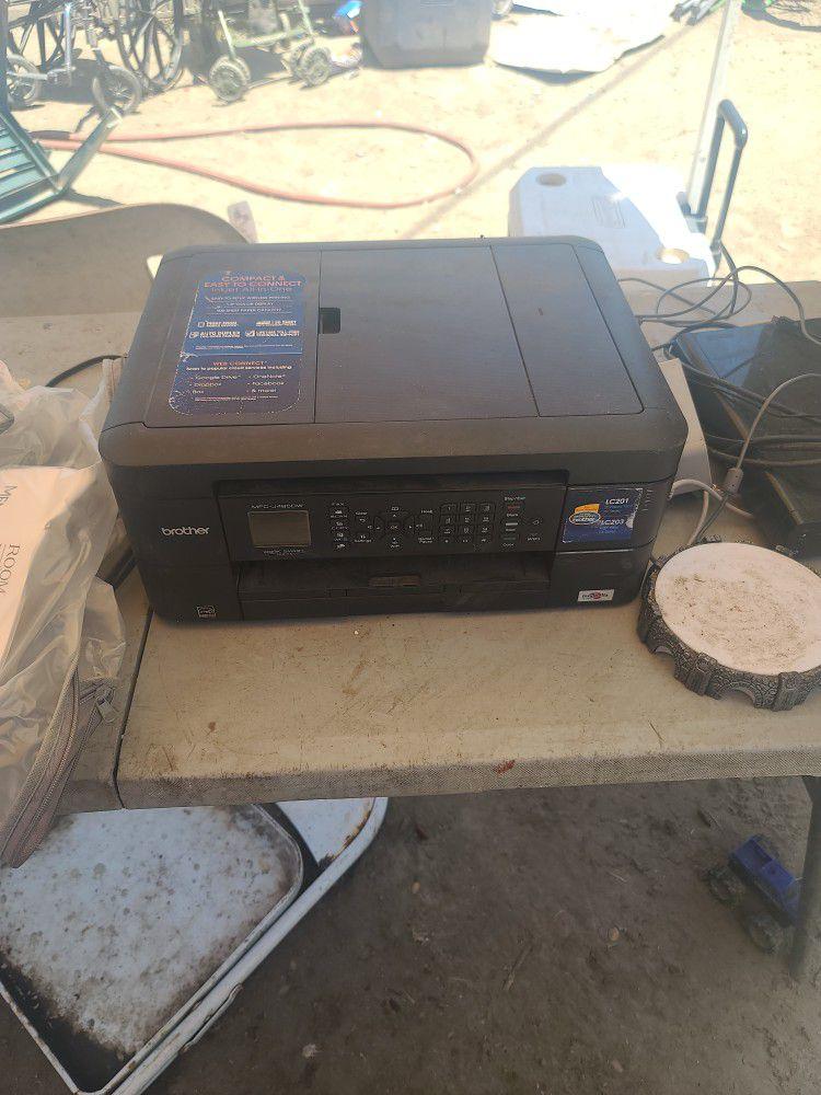 Brother Fax Machiene Printer Bluetooth