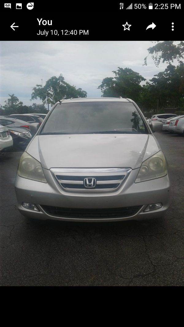 2005 Honda Odyssey Touring for Sale in Hollywood, FL - OfferUp