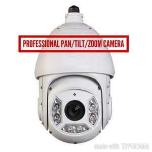 Professional Security Cameras PAN/TILT/ZOOM Cameras for Sale in Seattle, WA