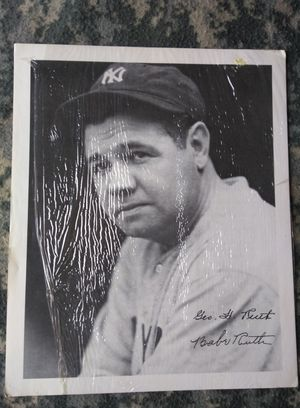 Used, Babe Ruth Autographed Copy for sale  Broken Arrow, OK