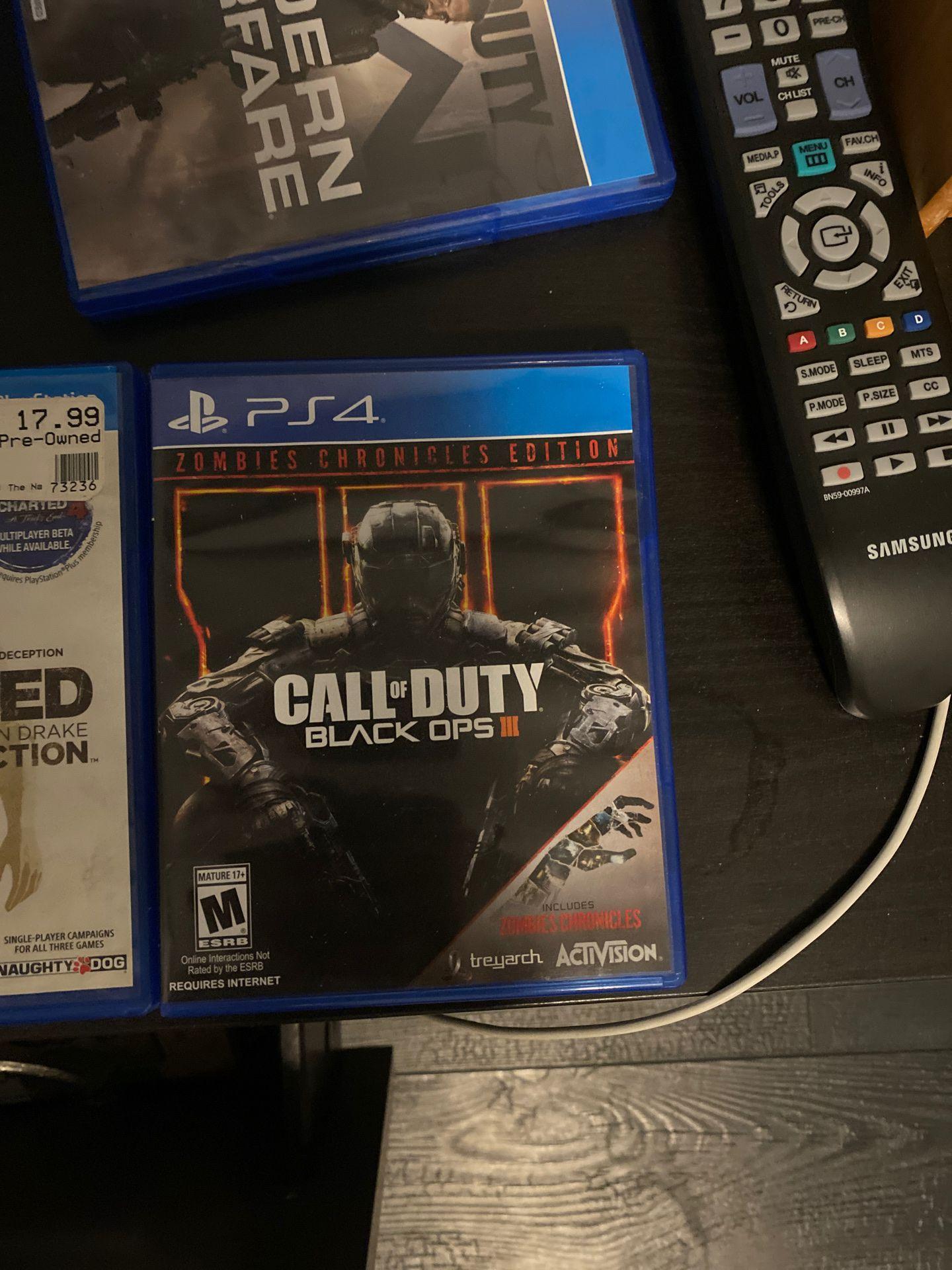 BLACK OPPS 3 PS4
