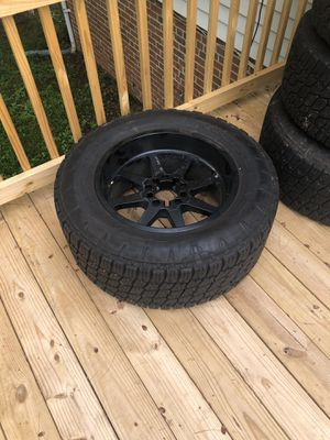 Dodge and Tundra wheels for Sale in Centreville, VA