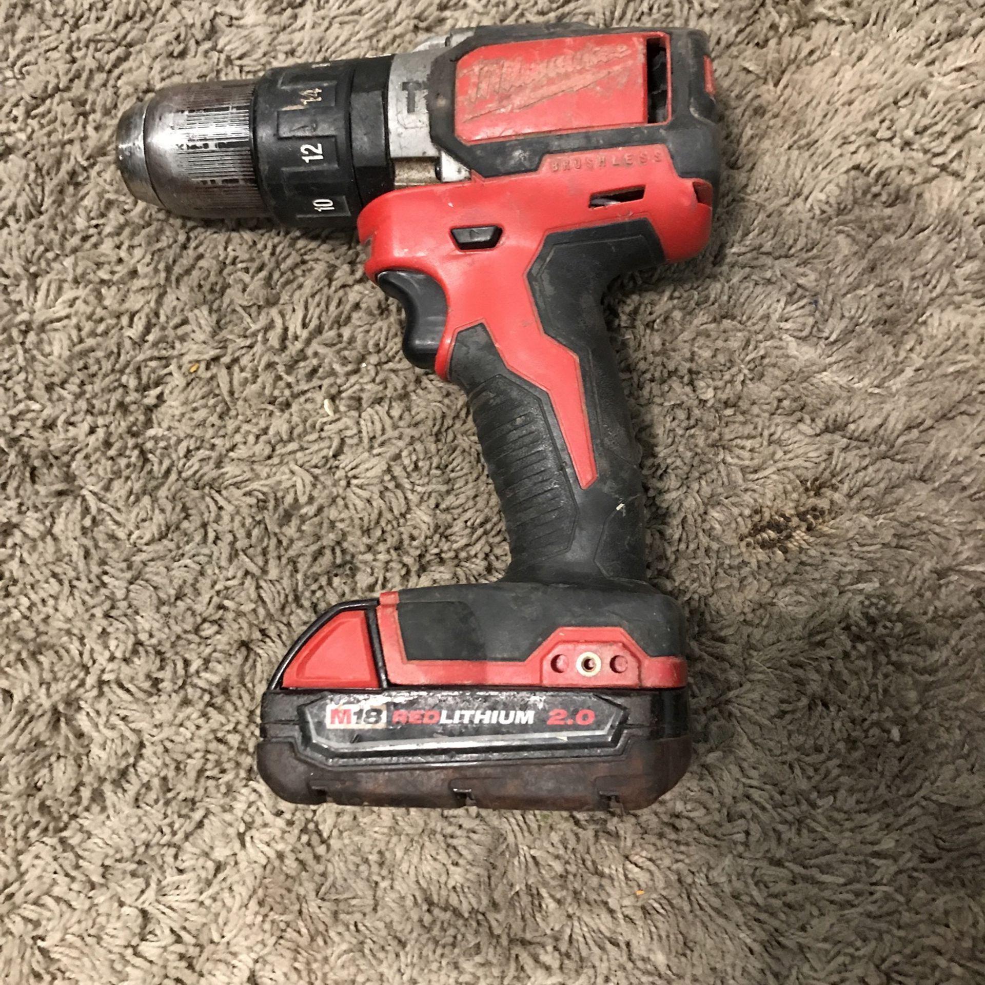 Milwaukee Brushless Hammer Drill